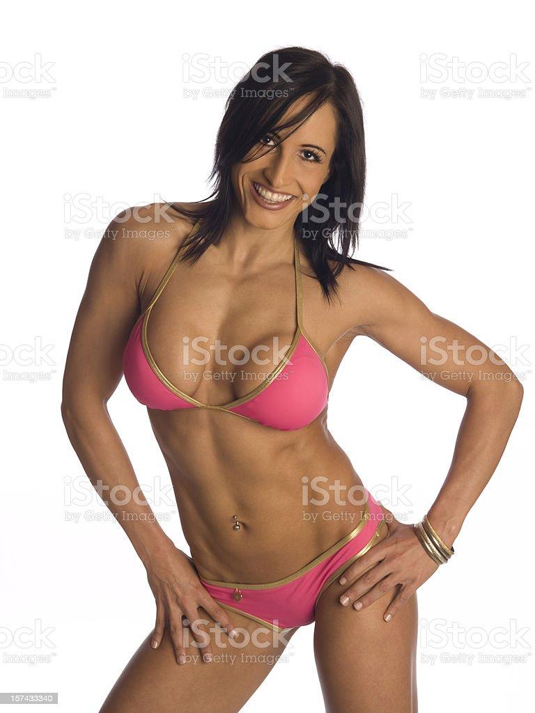 Fitness & Figure Model stock photo