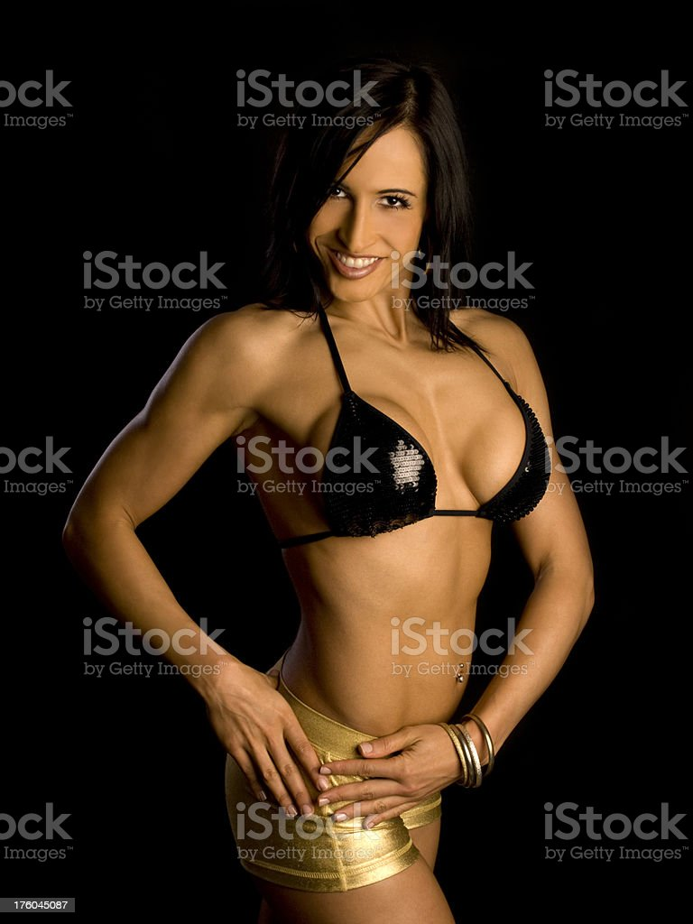 Fitness & Figure Model royalty-free stock photo