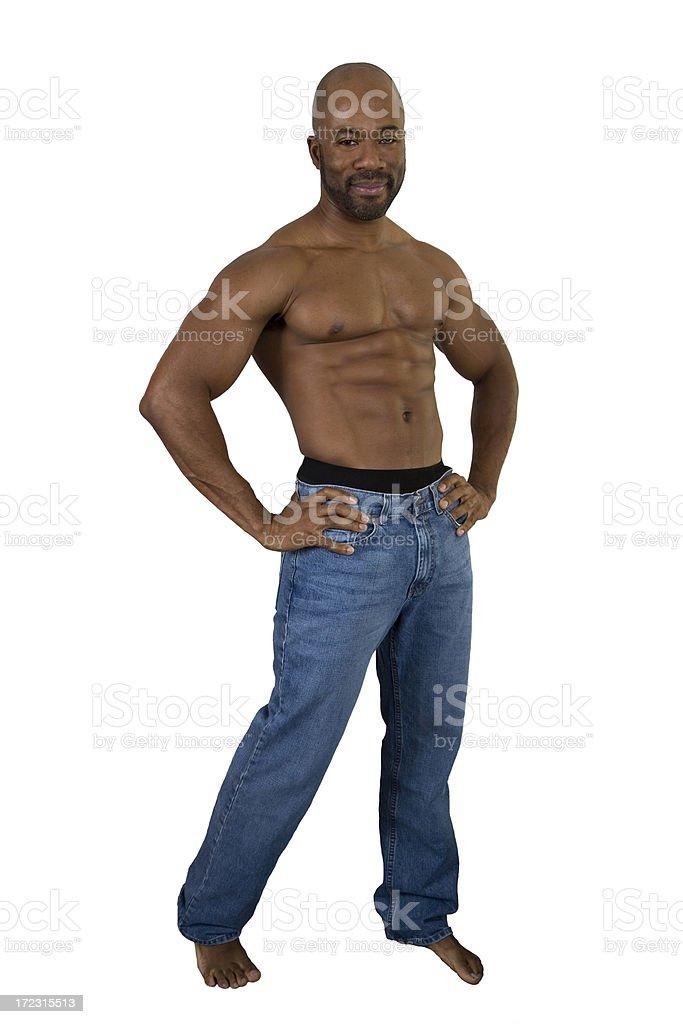 Fitness, Full Body Pose stock photo