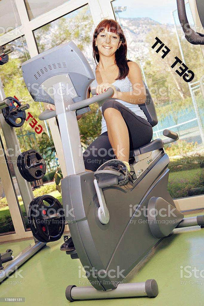 Fitness Fun royalty-free stock photo