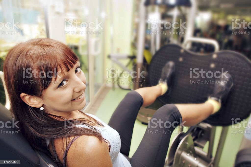 Fitness Fun royalty-free stock photo
