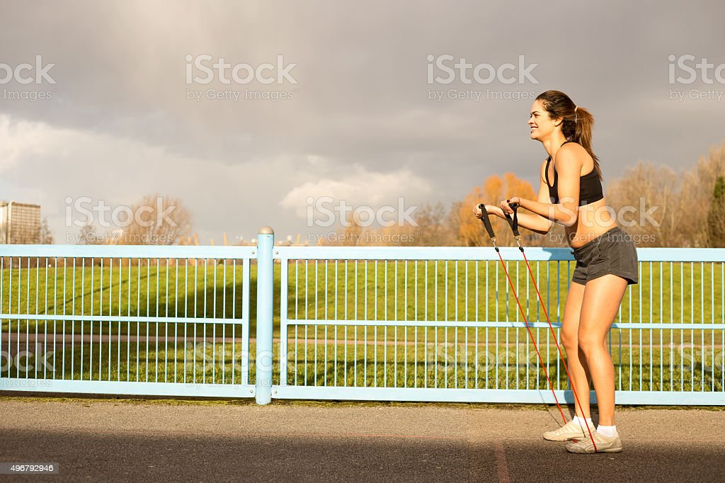 fitness girl royalty-free stock photo