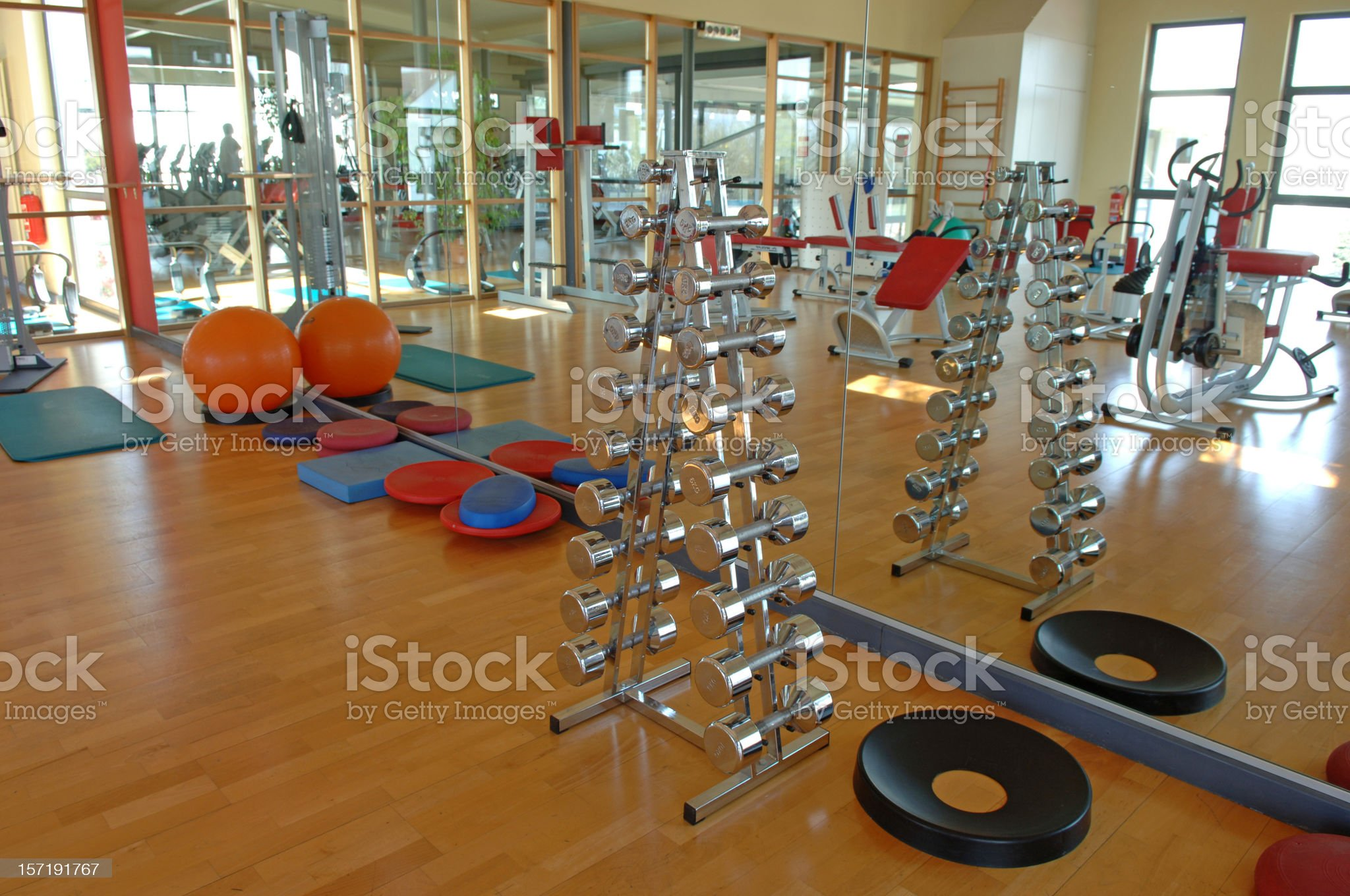 fitness gym #1 royalty-free stock photo