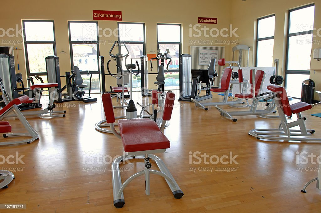 Fitness gym #2 royalty-free stock photo