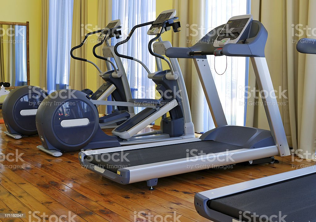 Fitness gym royalty-free stock photo