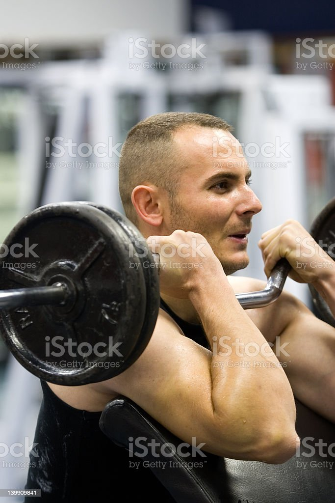 fitness gym training royalty-free stock photo