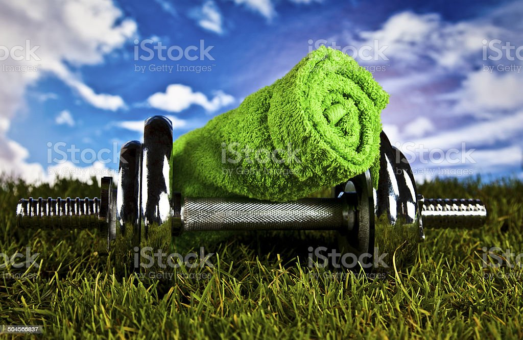 Fitness, health, gym stock photo