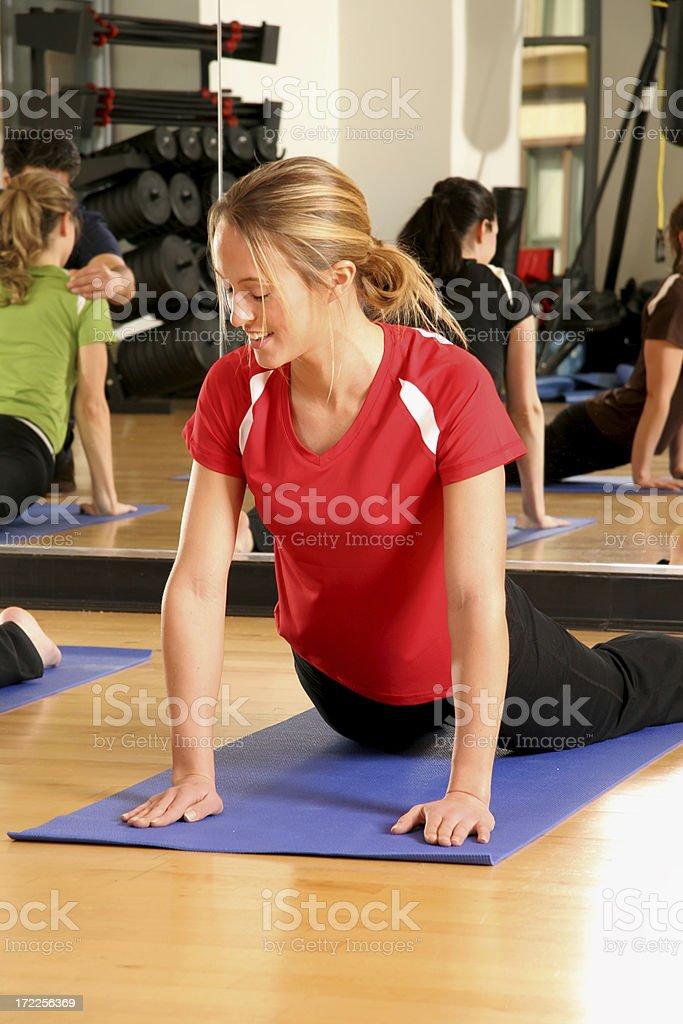 Fitness Instruction royalty-free stock photo