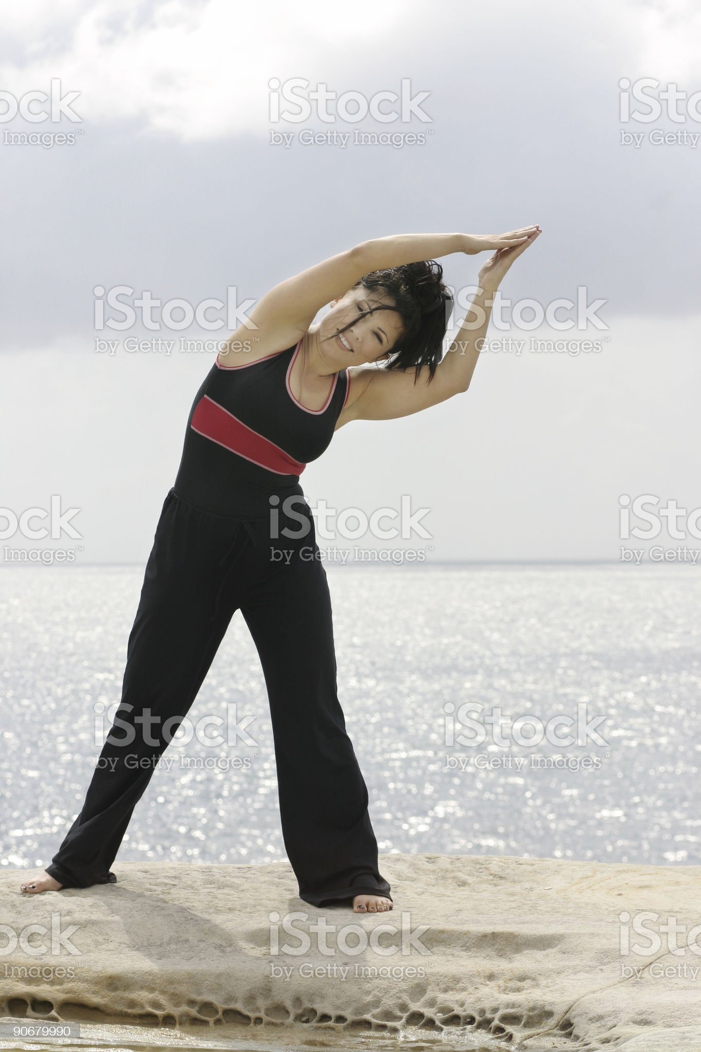 Fitness is fun royalty-free stock photo