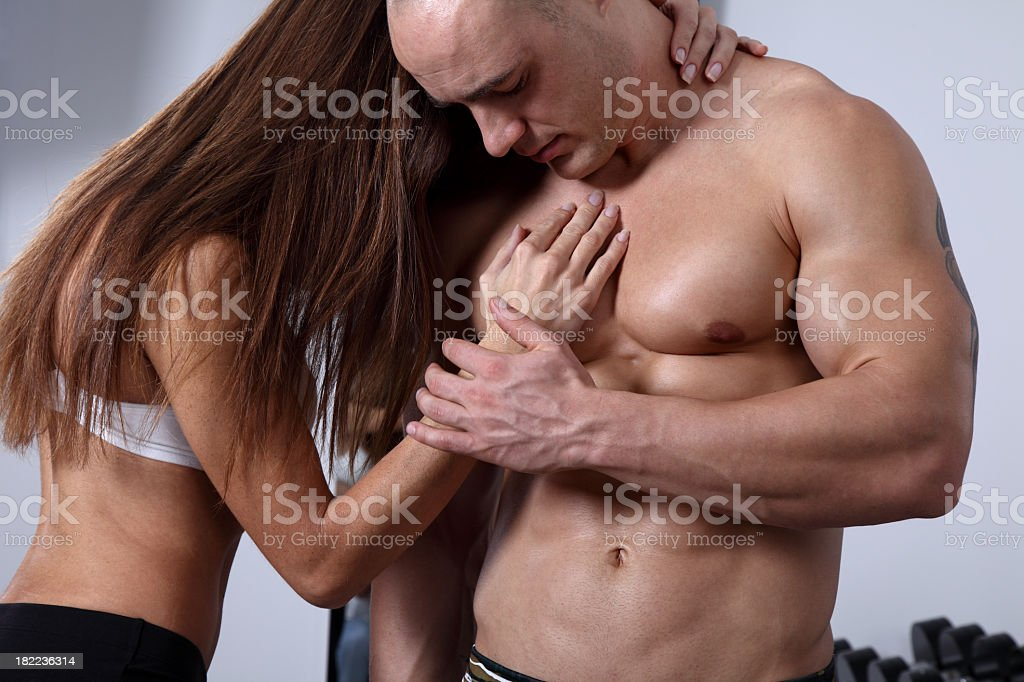 Fitness Love royalty-free stock photo