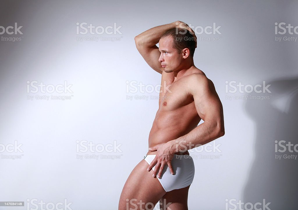 Fitness man royalty-free stock photo