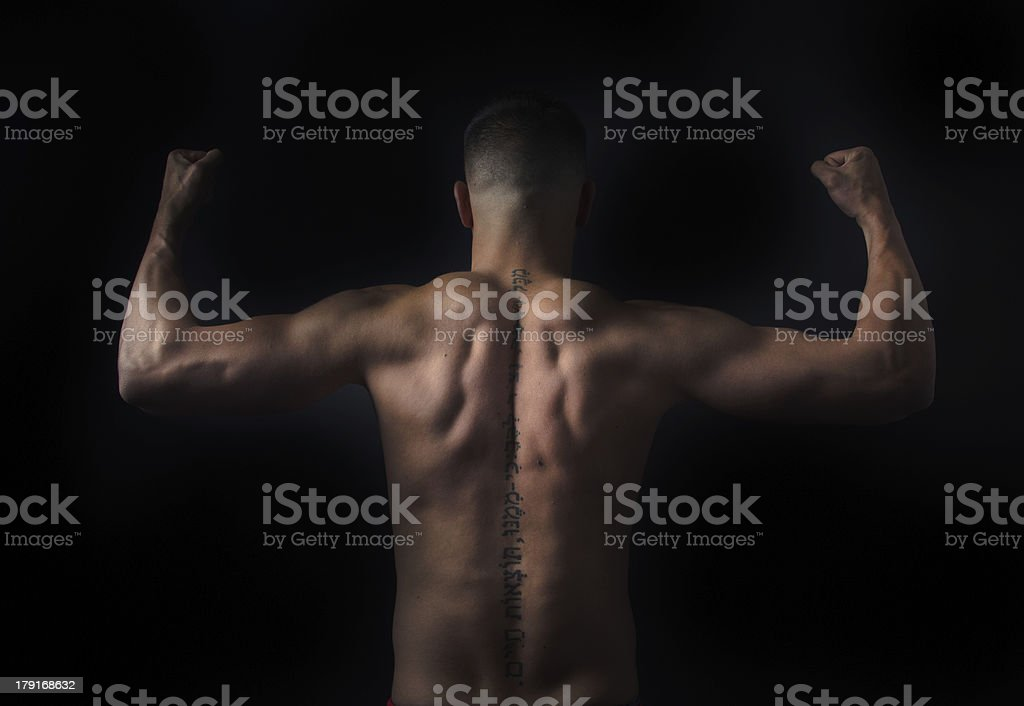 Fitness man royalty-free stock photo