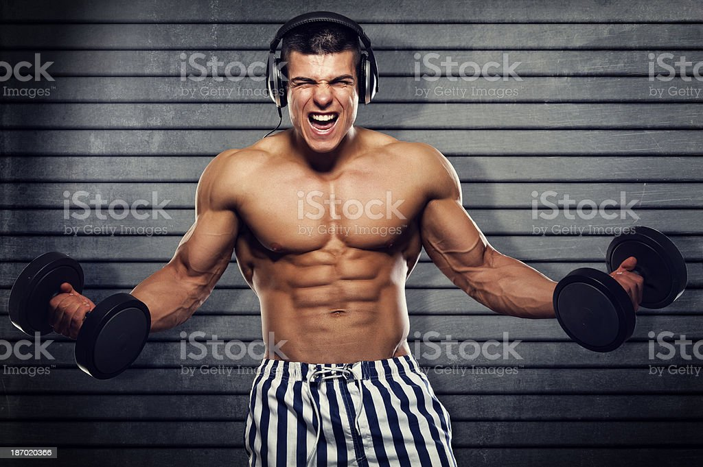 Fitness Party royalty-free stock photo