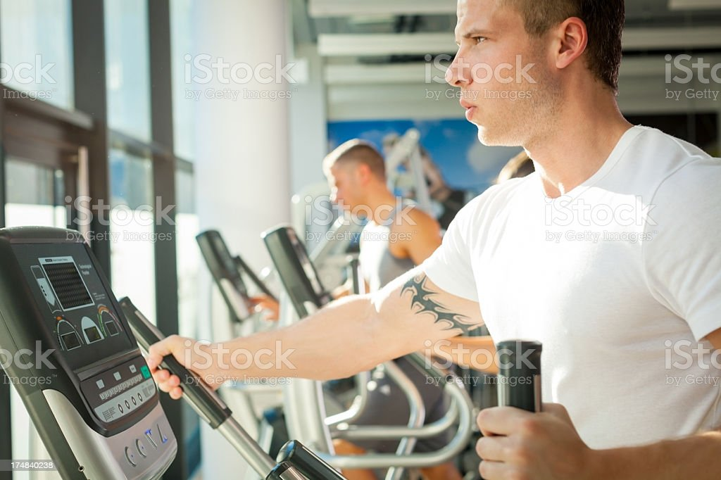 Fitness people. royalty-free stock photo