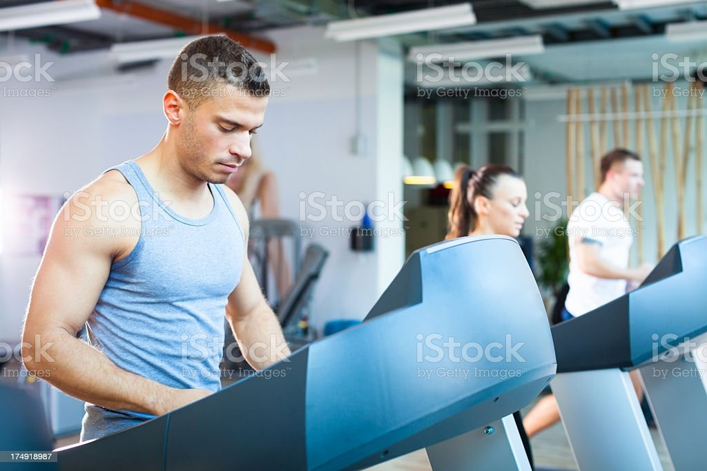 Fitness people royalty-free stock photo