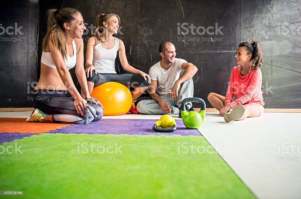 Fitness people stock photo