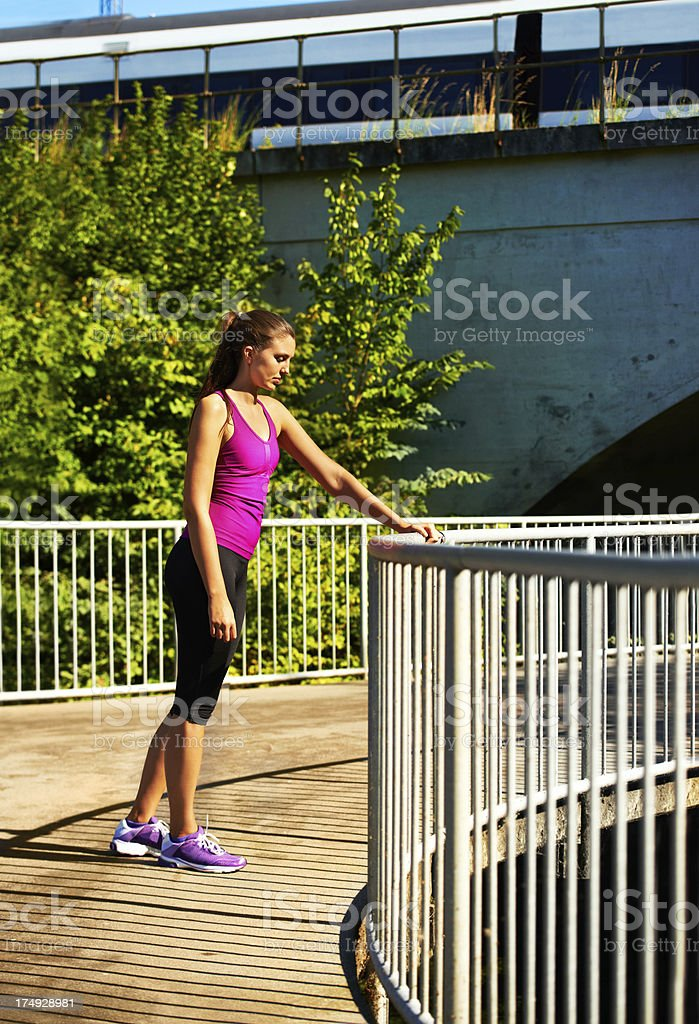 Fitness personified royalty-free stock photo