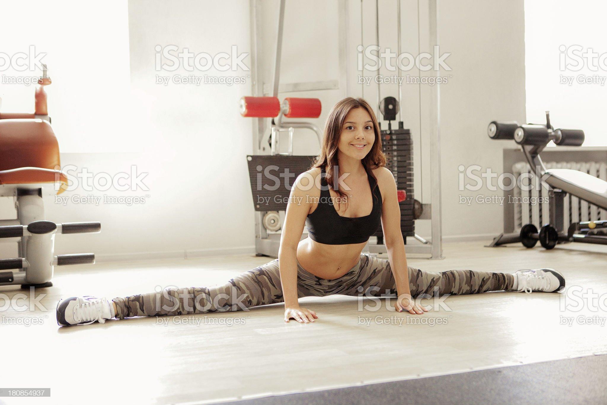 Fitness. royalty-free stock photo