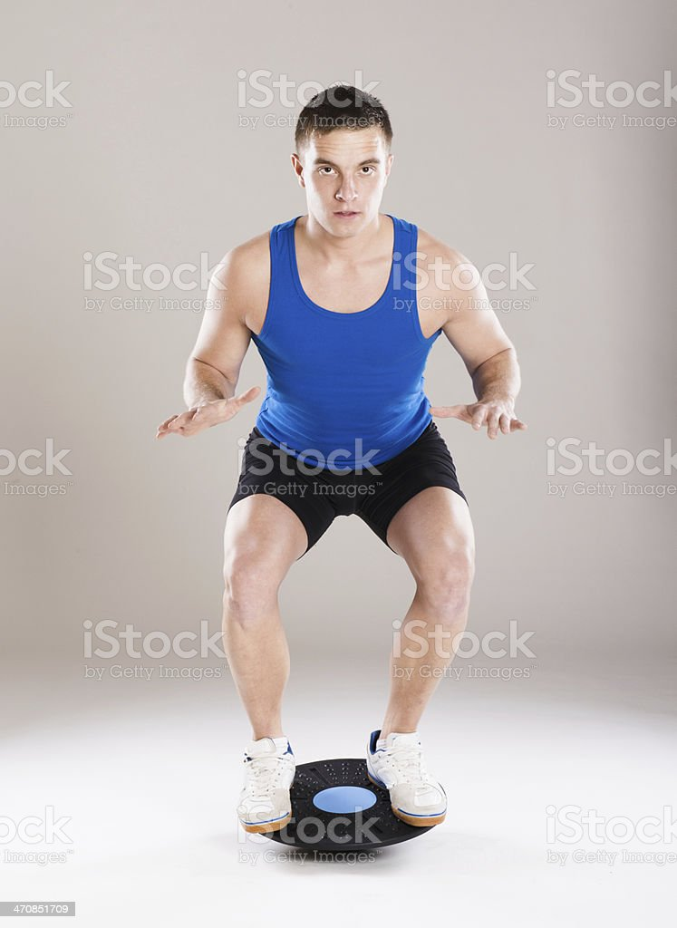 Fitness portrait royalty-free stock photo
