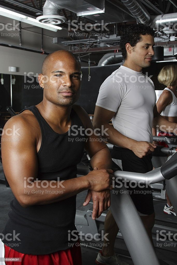 Fitness Room royalty-free stock photo