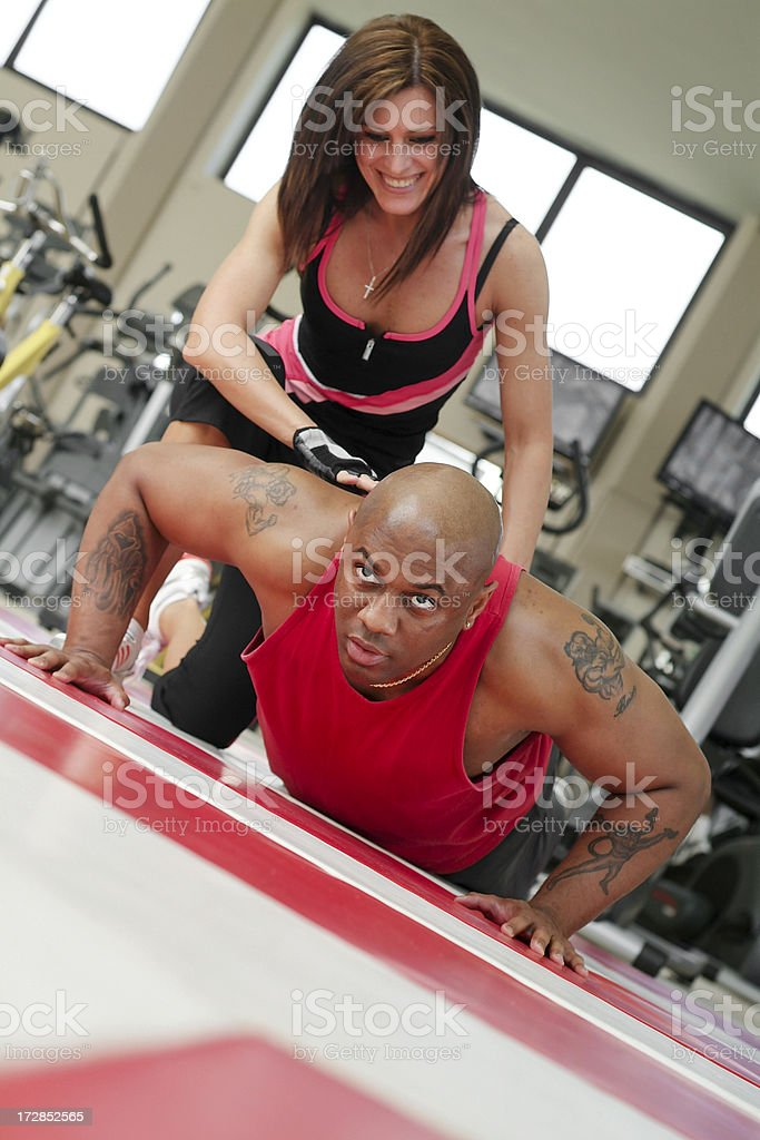 Fitness Series royalty-free stock photo
