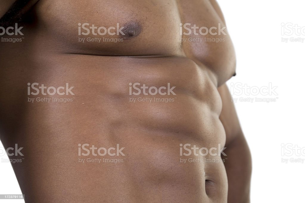 Fitness, Six-Pack, Closer stock photo