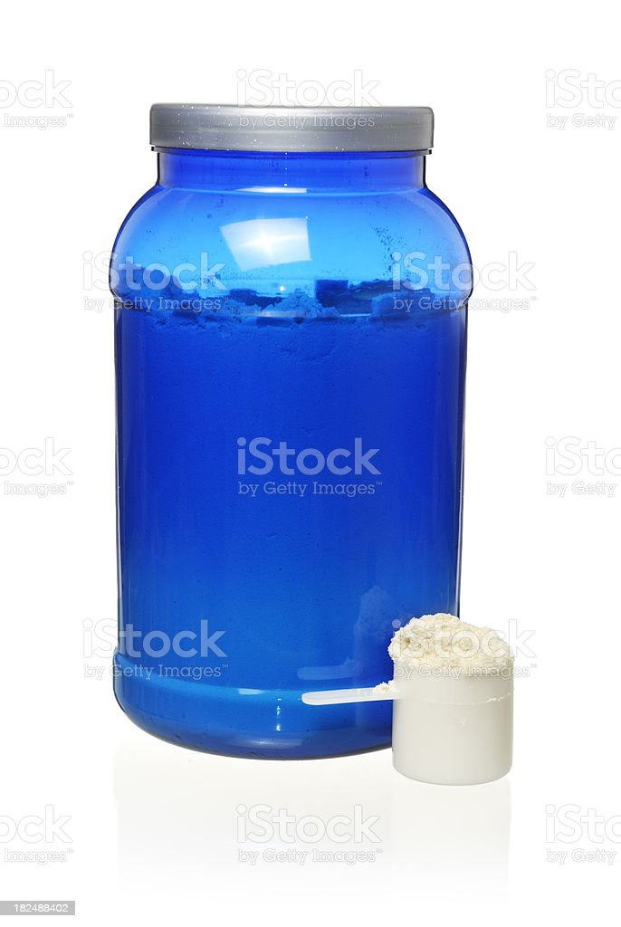 fitness supplement stock photo