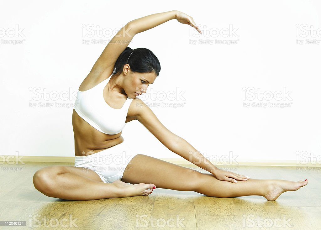 Fitness time royalty-free stock photo