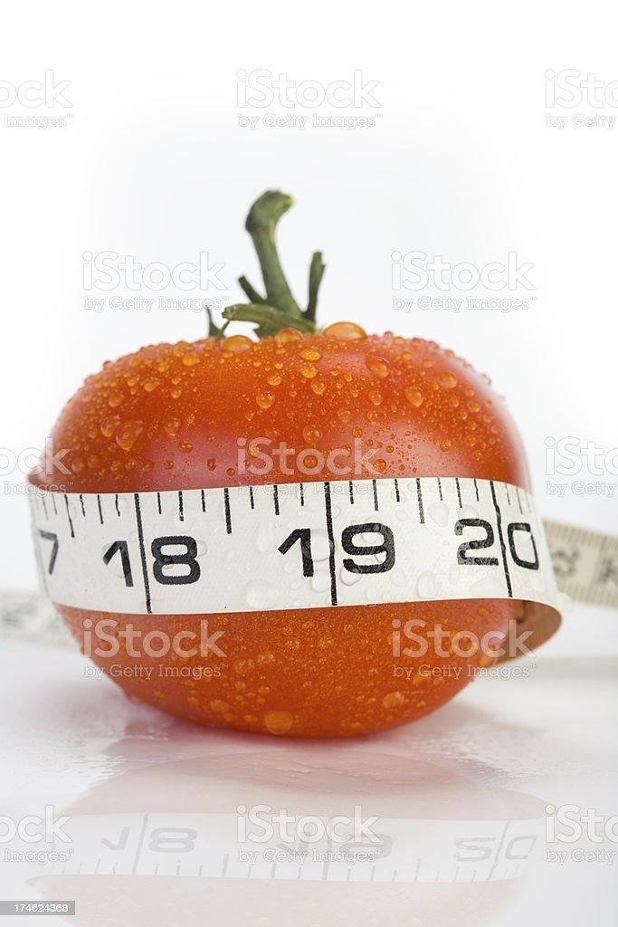 Fitness Tomato royalty-free stock photo