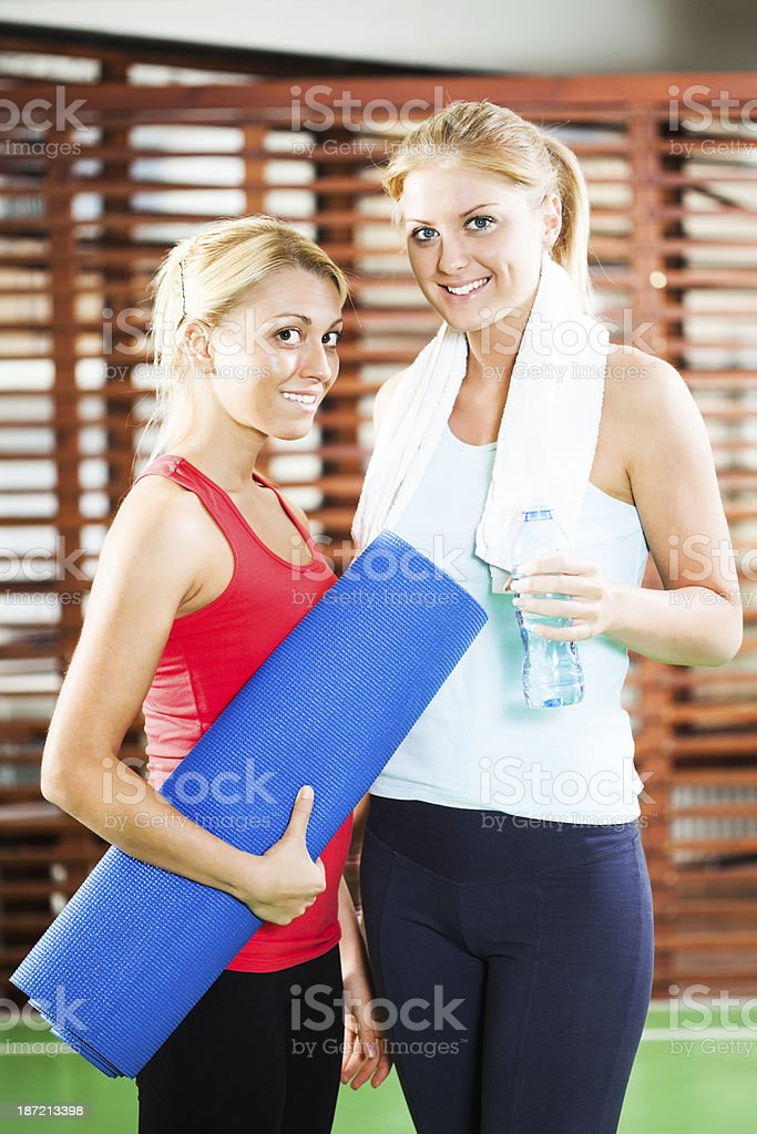 Fitness training royalty-free stock photo