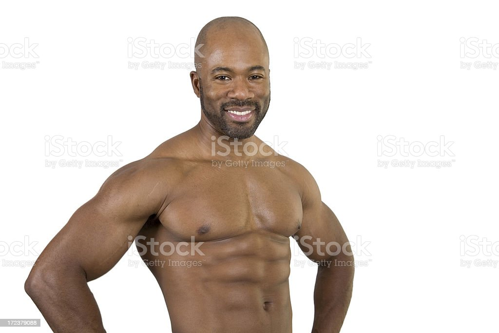 Fitness, Waist Up royalty-free stock photo