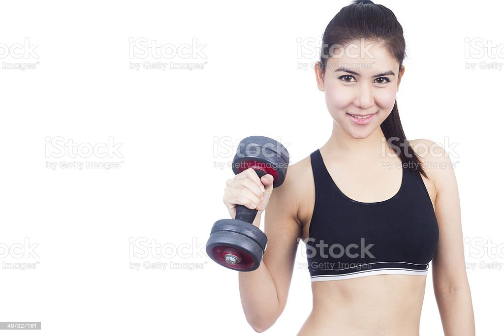 Fitness woman royalty-free stock photo
