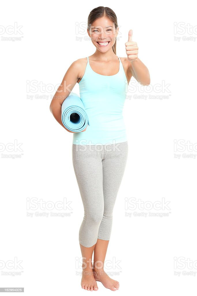 Fitness woman success royalty-free stock photo