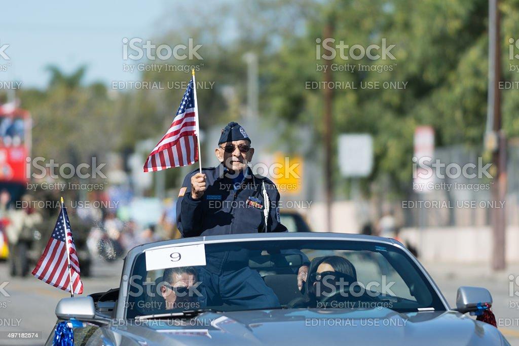 Fito Magdaleno U.S. Army veteran stock photo