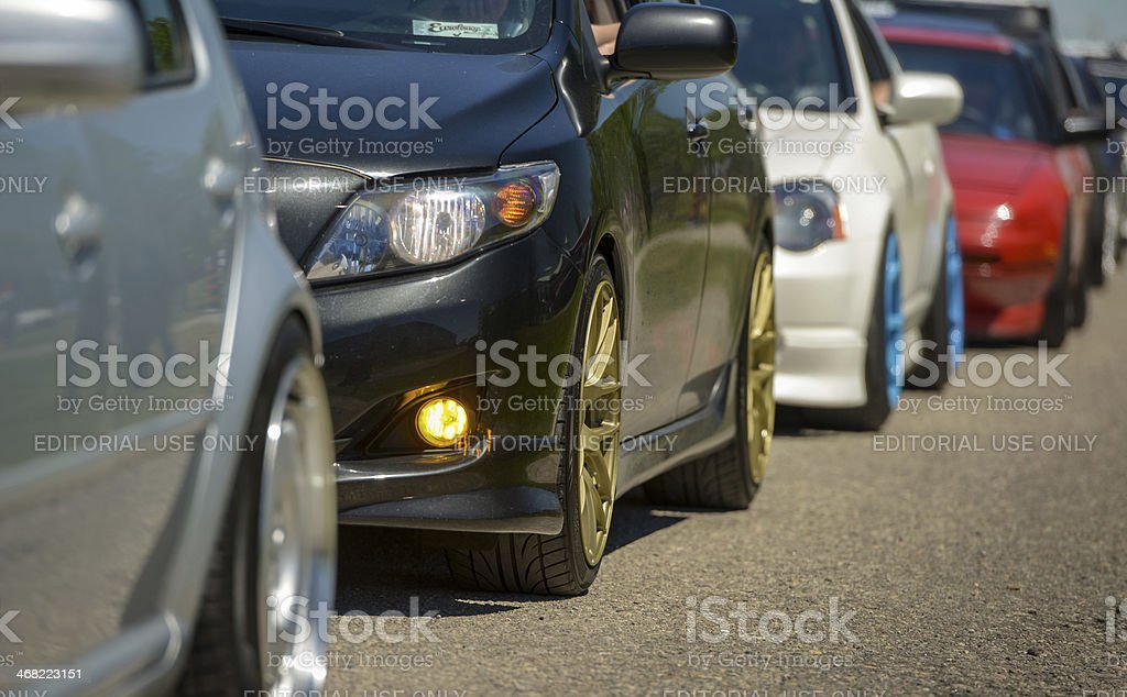 Fitted Weekend in Toronto stock photo