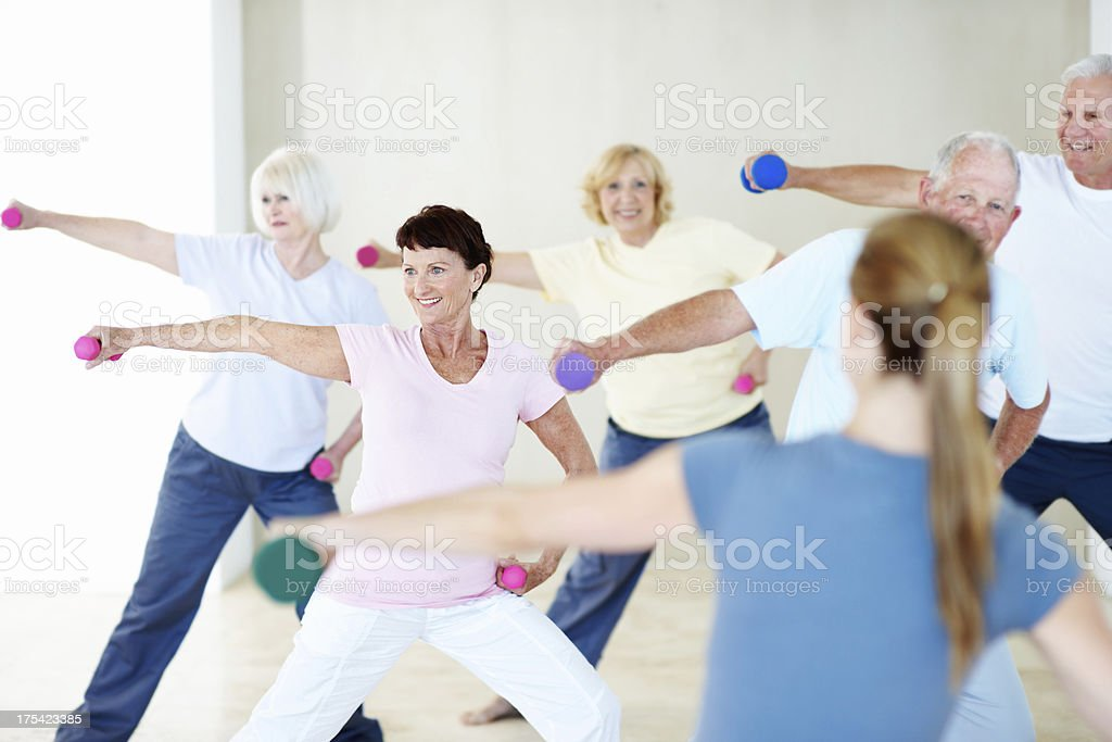 Fitter than ever before stock photo