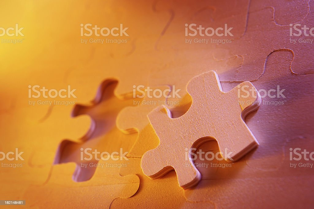 Fitting it Together stock photo