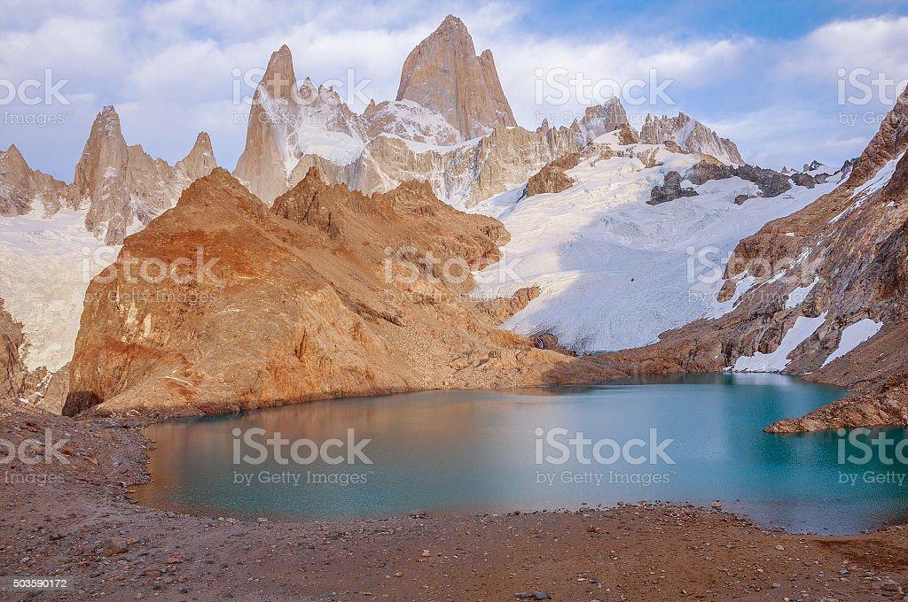 Fitz Roy mountain. stock photo