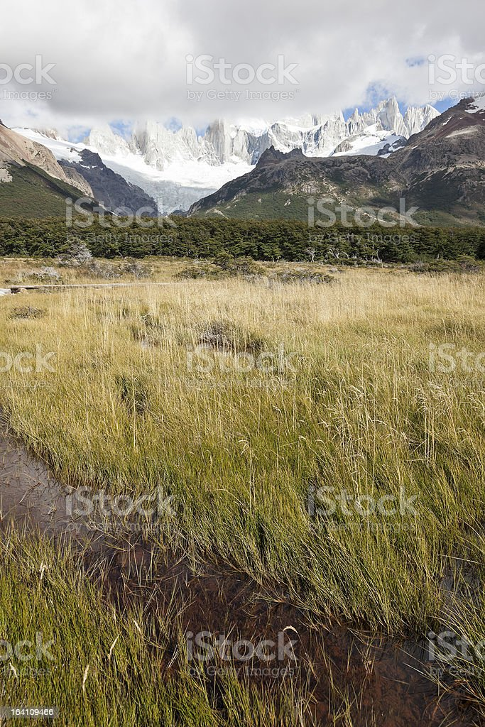 Fitz Roy Range royalty-free stock photo