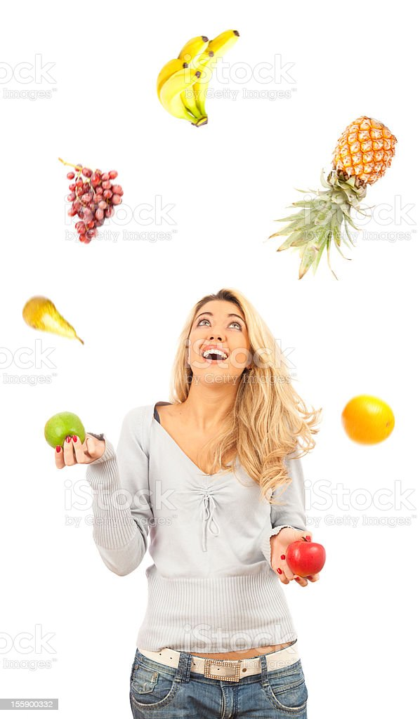five a day (or more) stock photo