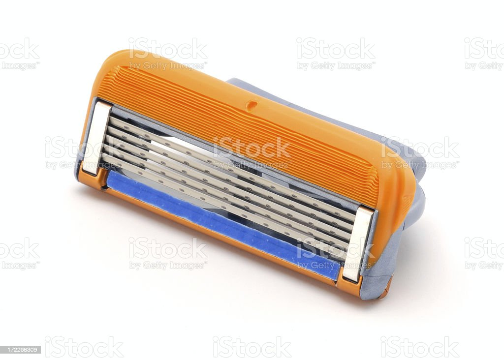 five blades shaver head royalty-free stock photo