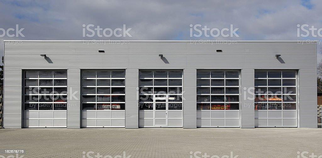 Five doors to choose stock photo