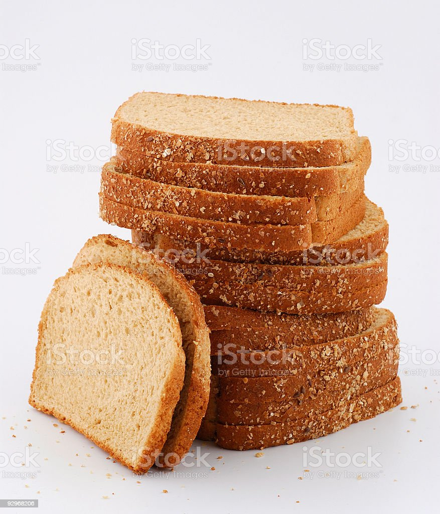 five grains bread royalty-free stock photo