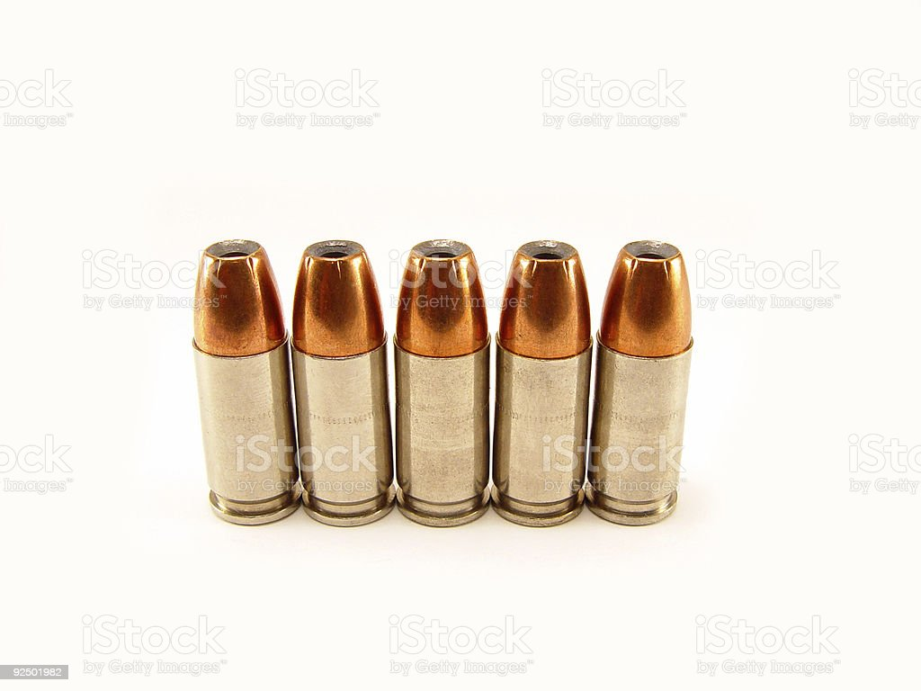 Five in a Row royalty-free stock photo