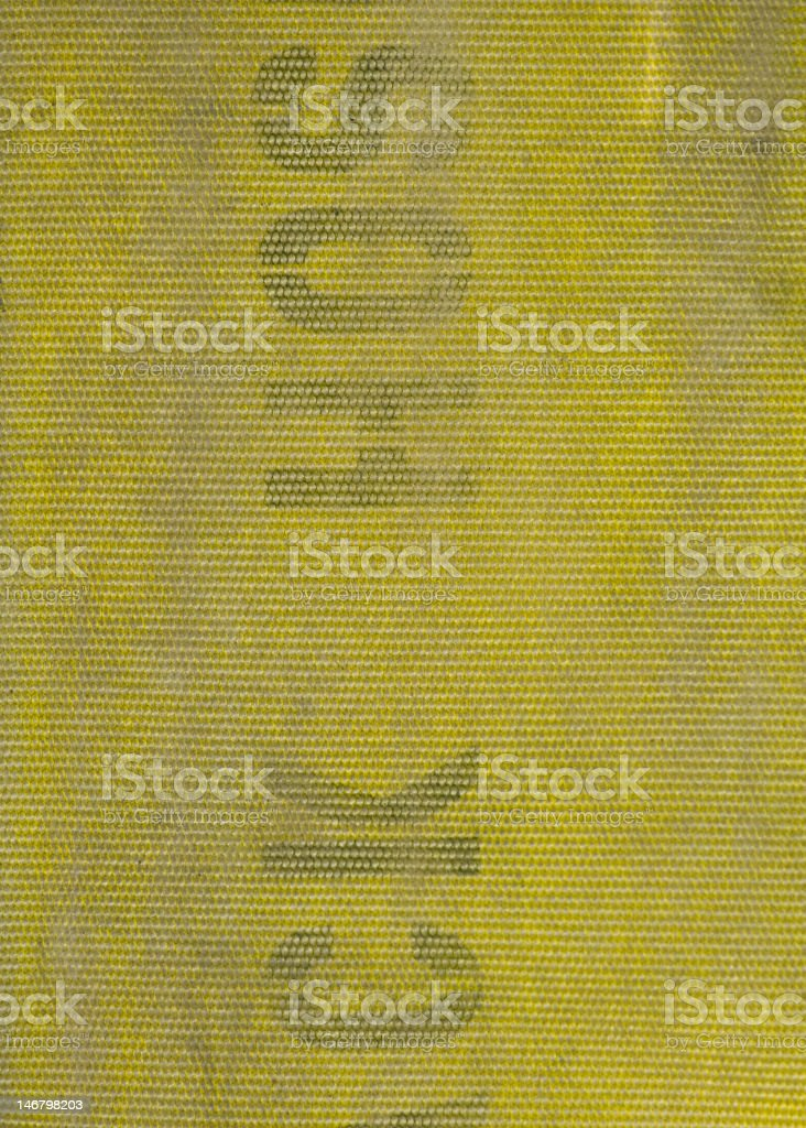Five inch fire hose texture stock photo