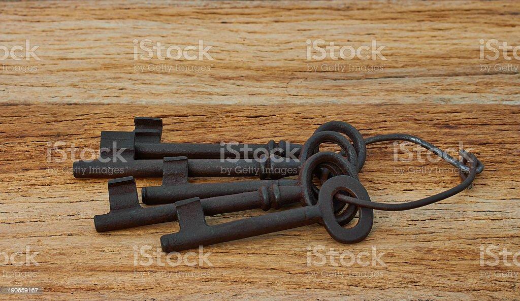 five keys royalty-free stock photo