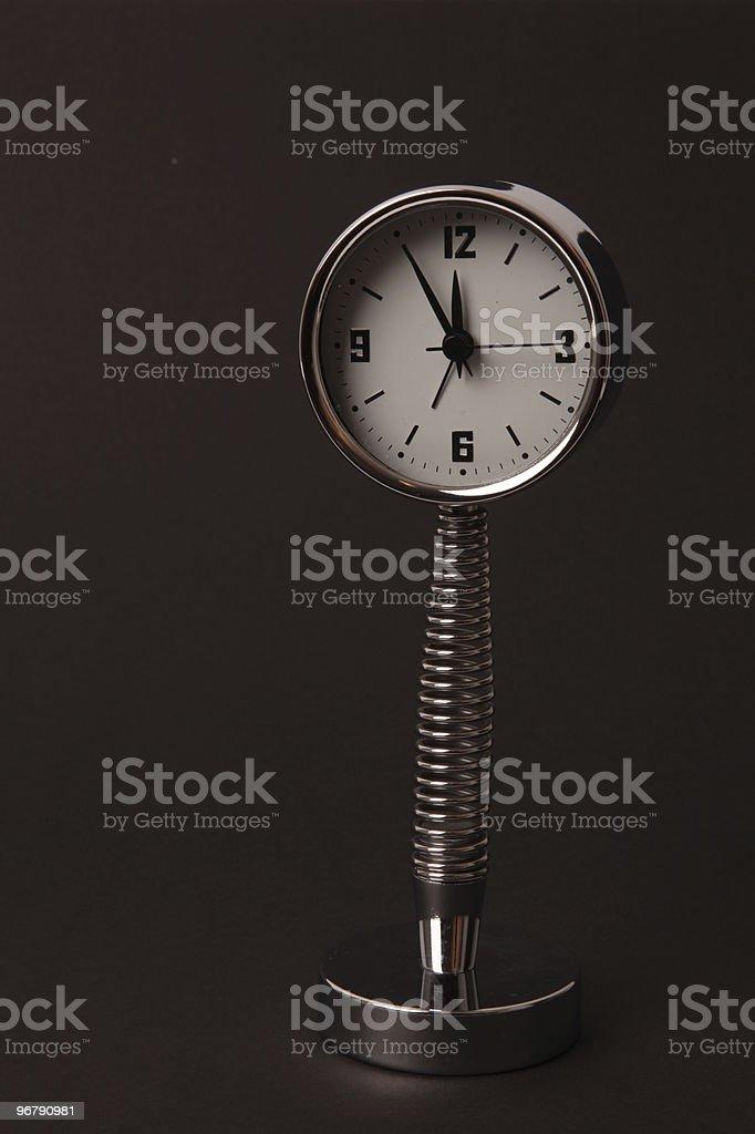 five minutes to twelve stock photo