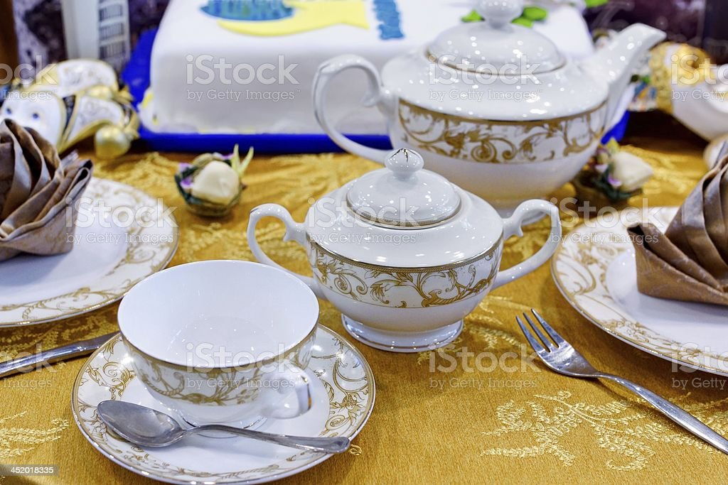 Five o'clock Tea royalty-free stock photo