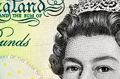 Five Pound Note - Queen Elizabeth II