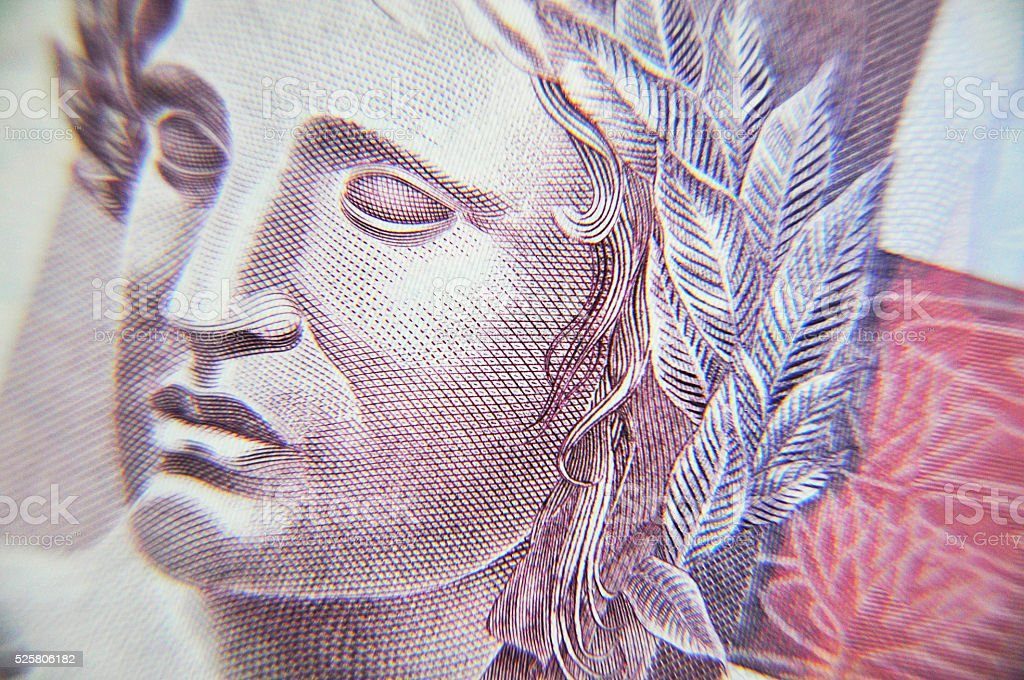 Cinco Reais stock photo